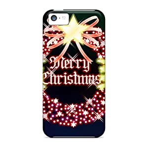 New Cute Funny Merry Christmas Case Cover/ Iphone 5c Case Cover