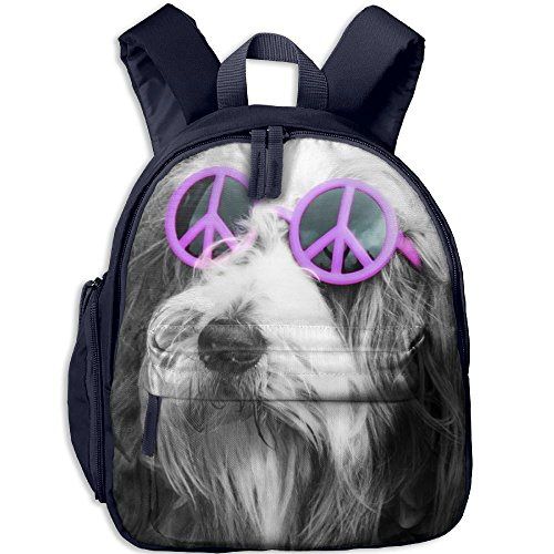 Lightweight Kids School Backpacks Schnauzer Wear Sunglasses School Bag Custom Printed Book Bags Cute Daypacks Perfect Gift For - Custom Printed Sunglasses