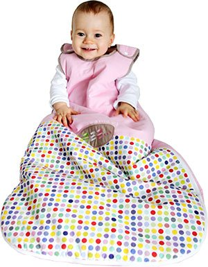TuoMio Baby Sleeping Bag - 6-18 months - 2.5 Tog 4 seasons Sleeping Bag by TuoMio Baby Collection