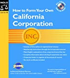 How to Form Your Own California Corporation, Anthony Mancuso, 1413301487
