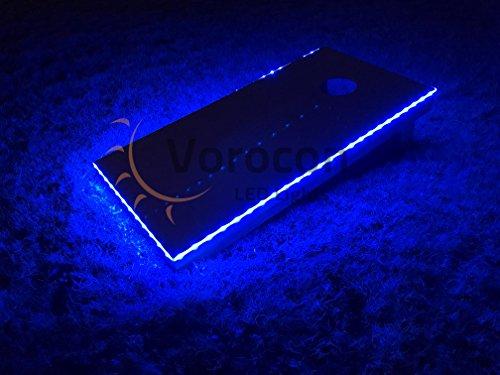 2pc LED Cornhole Edge Lights MIX/MATCH COLORS!