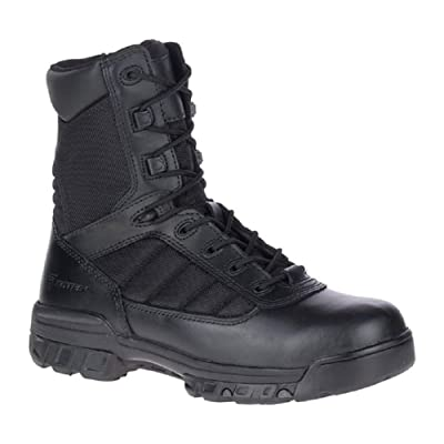 Bates Men's 8'' Tactical Sport Side Zip Military Boot: Shoes