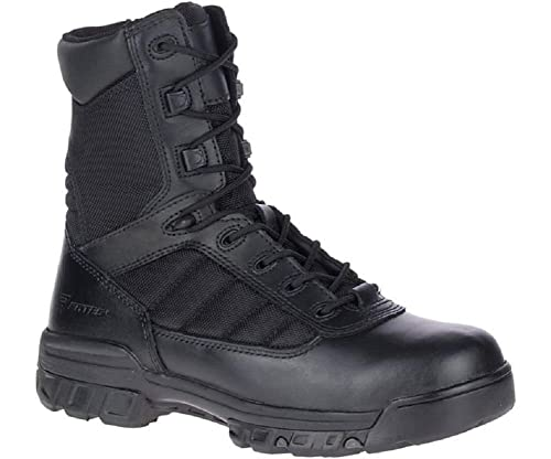 Bates Men's 8inch Tactical Sport Side Zip Military Boot