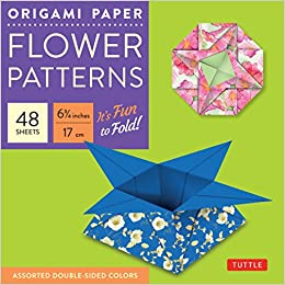 Amazon origami paper flower patterns 6 34 size 48 turn on 1 click ordering for this browser mightylinksfo