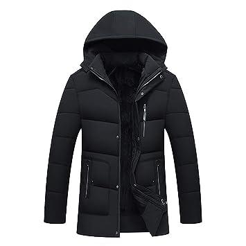Abrigo para hombre, chaqueta abrigada de abrigo de moda ...