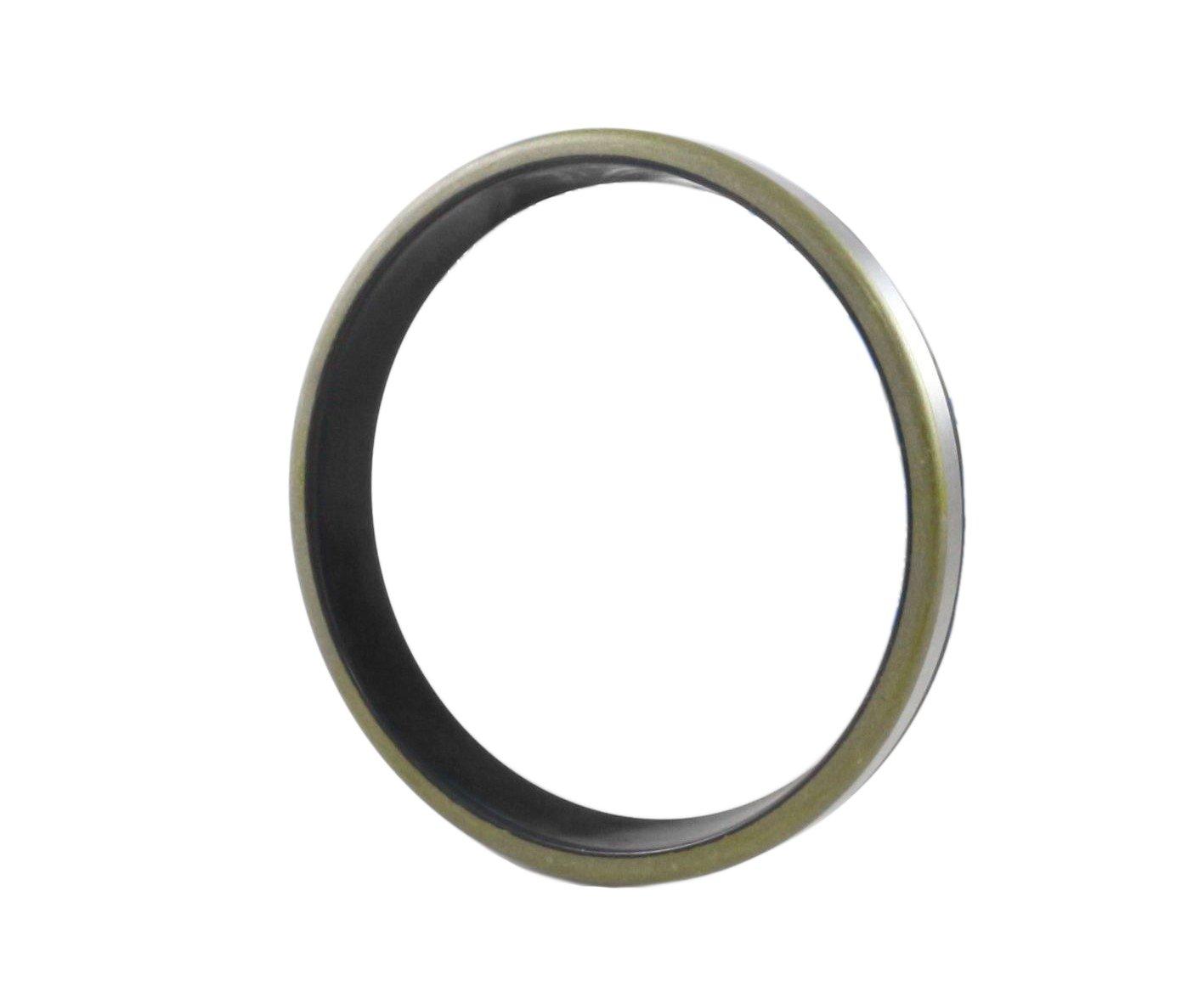 Wiper Seal 70X80X7 / 10 (10 PCS) Dust Seal GA |EAI Oil Seal with Ground Outer Metal housing 70mmX80mmX7/10mm | GA70X80X7/10 | 2.756''x3.150''x0.276'' / 0.394'' by EAI (Image #2)