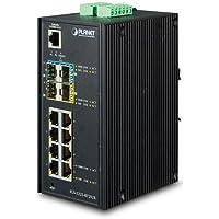Planet IGS-5225-8T2S2X IP30 Industrial L2+/L4 8-Port 1000T + 2-port SFP + 2-port 10G SFP+ Full Managed Switch