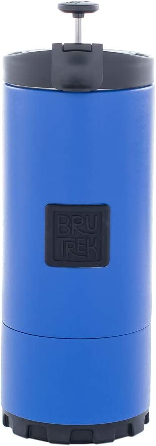 BruTrek OVRLNDR Travel Coffee French Press, 24 fluid ounce Capacity, Mountain Lake