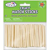 Multicraft Imports Craft Match Sticks, 2-Inch, Natural, 750 Per Package