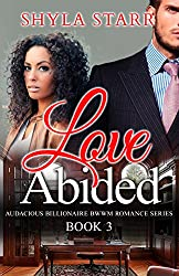 Love Abided (Audacious Billionaire BWWM Romance Series Book 3)