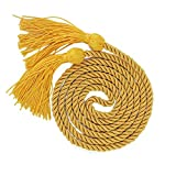 "GraduationMall Graduation Honor Cord 68"" Gold"