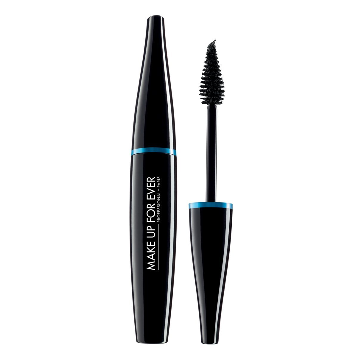 MAKE UP FOREVER MASCARA (BLACK 7ML)-AQUA SMOKY EXTRAVAGANT DRAMATIC IMPAET & GRAPHIC, PRECISION ,WATERPROOF , AUTHENTIC 100% FROM PARIS FRANCE
