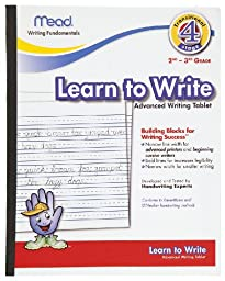 Mead Learn to Write Tablet, 10 x 8-Inches, 40 Sheets (48068)