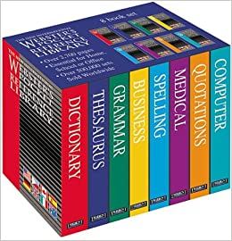 8 Volume Reference Library (New International Webster's)