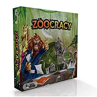 Zoocracy Interactive Board Game - Political Strategy Family Game with a Pinch of Luck - Family Board Game for Teens, Adults and Negotiation Players