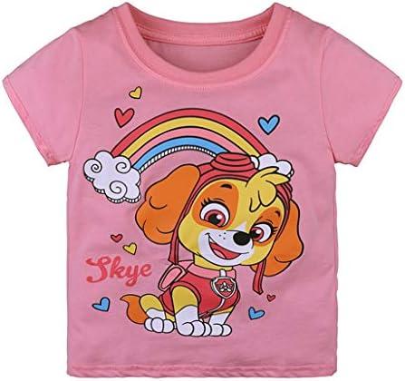 Ianchoo Kids Boy T Shirt Kids Clothes Kids Summer Print Boys Cartoon Short Sleeve Dinosaur T Shirts
