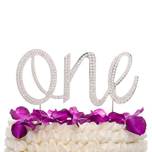 cd50c8863bf9 Jual Ella Celebration One Cake Topper for First 1st Birthday Party ...