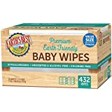 Earth's Best Chlorine-Free Wipes, 432 Count