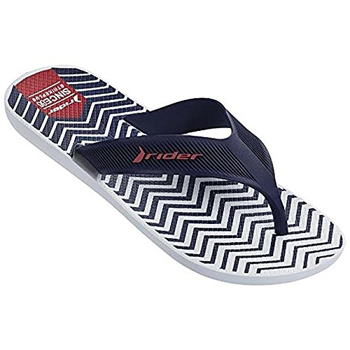 Raider R11073/21192, Chanclas Unisex Adulto Varios colores (Blanco /     Azul)