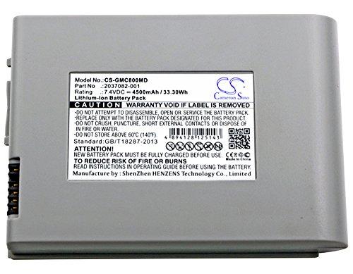 4500mAh Battery for GE MAC 800, MAC800 by Eclife Mart (Image #2)