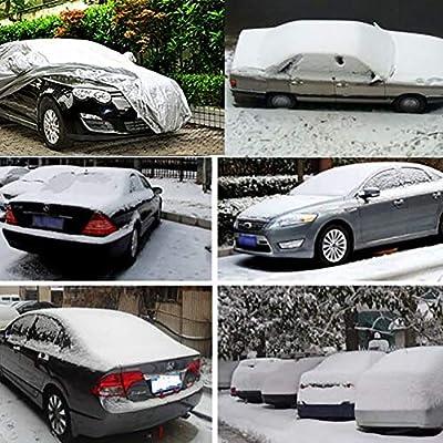 L Autoschutzhülle Winter Fahrzeugabdeckung Auto Abdeckung PKW Plane Größe Gr