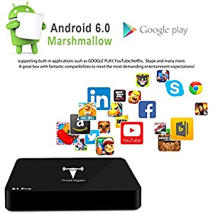 2017 New Arrivals]SEGURO S1Pro Android TV Box 16 : Good for
