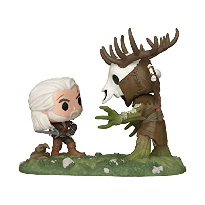 Funko Pop! The Witcher III Wild Hunt Geralt Vs Leshen Insider Club Exclusive Game Moment: Toys & Games