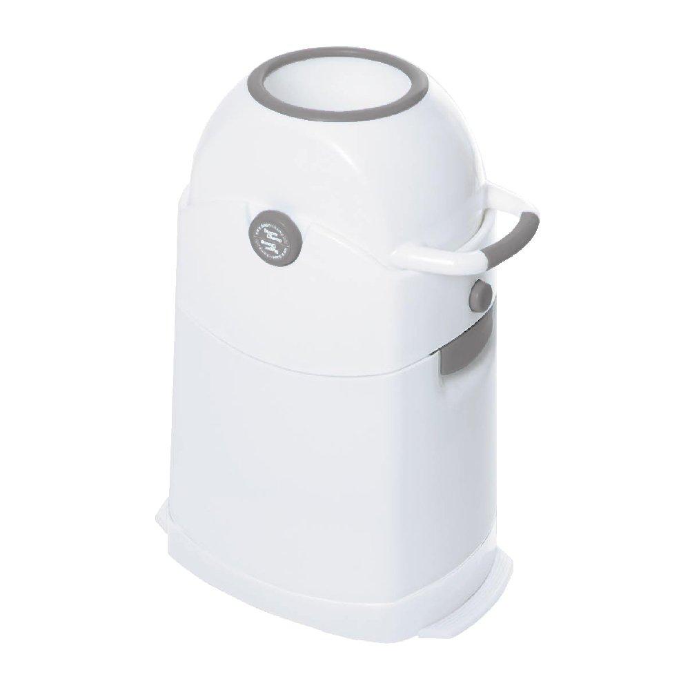 Diaper Champ Seau a couches - Blanc/Argent product image