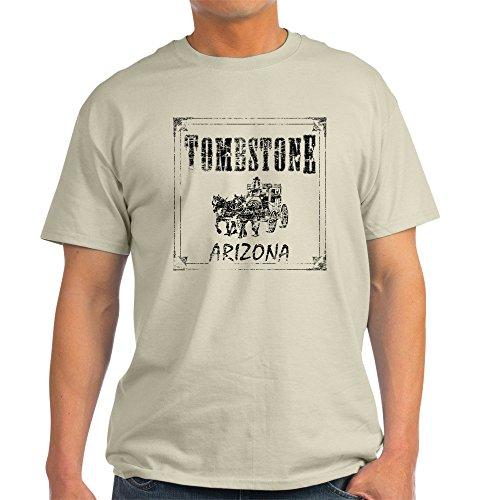 CafePress Tombstone Arizona Light T-Shirt 100% Cotton T-Shirt