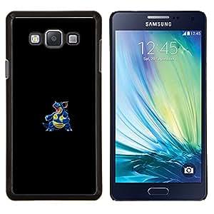 Qstar Arte & diseño plástico duro Fundas Cover Cubre Hard Case Cover para Samsung Galaxy A7 A7000 (Agua Lagarto P0kemon)