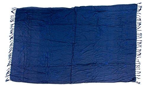 Kascha Trading - Camisola - para mujer Stickerei Dunkel Blau