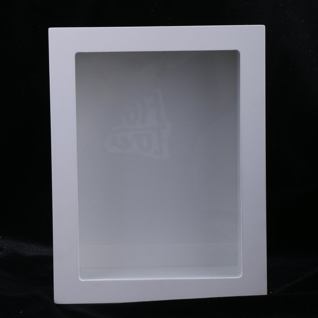 Amazon.de: Homyl 3D Objektrahmen Holz Bilderrahmen 3D Quadratisch ...