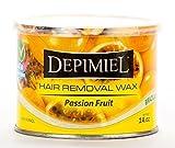 Depimiel Brazilian Soft Wax, Passion Fruit, 14 oz