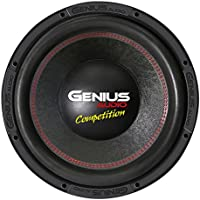 Genius N11-15D2 15 4000 Watts-Max Car Audio Subwoofer Nitro Competition Dual 2-Ohms