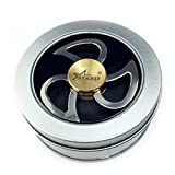 Starrs Teardrop Tri Spinner. Stainless Steel Metal. 2.5