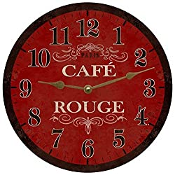 Paris Themed Wall Clock