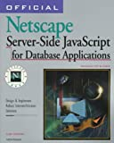 Official Netscape Database Application Developer's Guide for Enterprise Server 3, Duncan, Luke, 1566047455