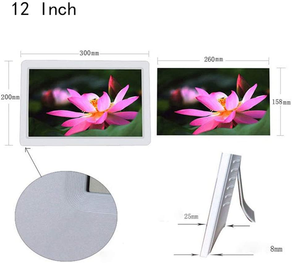 15-inch Electronic Photo Frame 12-inch high-Definition Screen 14-inch Music MP31280x800 high-Definition Digital Photo Frame 16:10 IPS Display