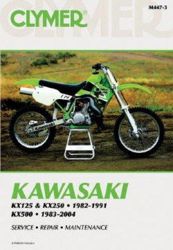 Download M447-3 Kawasaki KX125 KX250 1982-1991 KX500 1983-2004 Clymer Motorcycle Repair Manual PDF