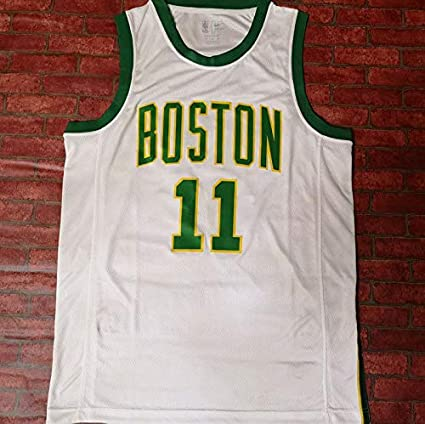 Boston Celtics Maillot De Basketball N/&G SPORTS Kyrie Irving /édition City Maillot De Sport Gilet Respirant /à S/échage Rapide
