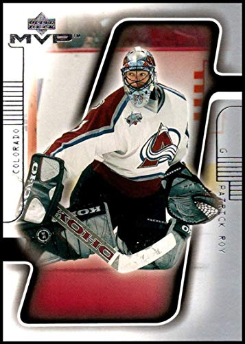 (2001-02 Upper Deck MVP #49 Patrick Roy NM-MT Colorado Avalanche Official NHL Hockey Card)