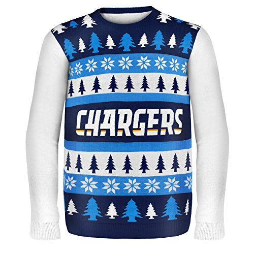 5726a9a4922 San Diego Chargers Ugly Christmas Sweaters