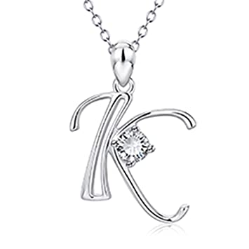 Amazon com: Necklace Women Genuine 925 Sterling Silver 26