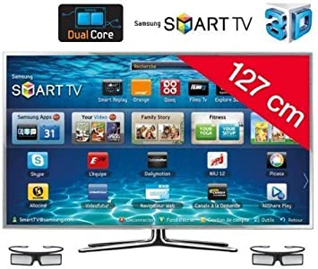 SAMSUNG Televisor LED Smart TV 3D UE50ES6900: Amazon.es: Electrónica