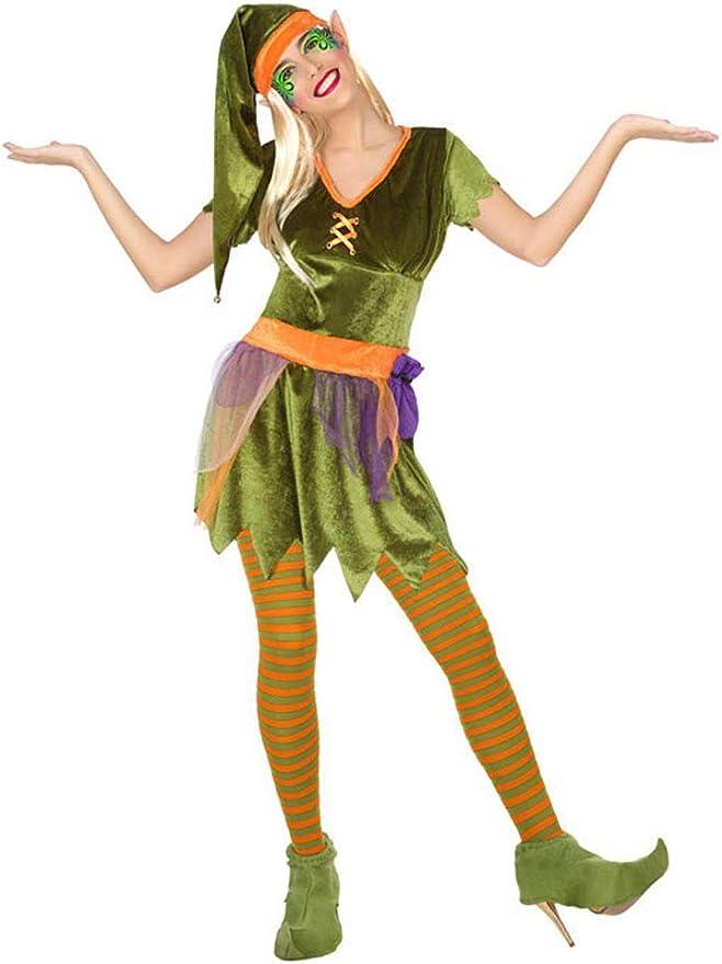 Atosa-56493 Disfraz Duende, Color Verde, XS-S (56493): Amazon.es ...