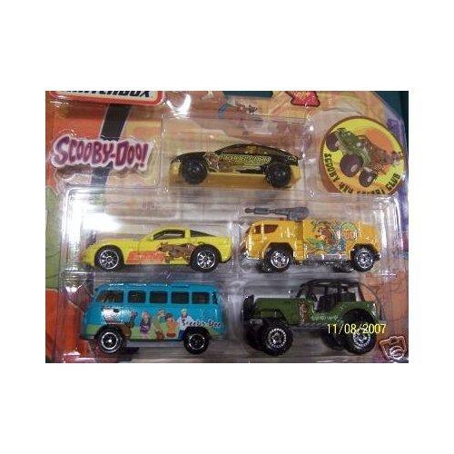 - Scooby-Doo Matchbox 4x4 Safari Club Die Cast Cars
