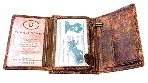 NB24 Herren Geldbörse WILD THINGS ONLY !!!, Keltisches Kreuz (1166) Picture Wallets Man
