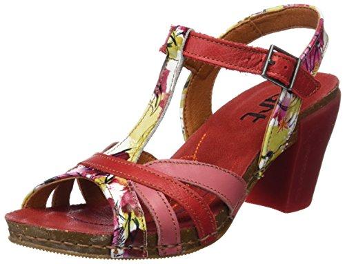 Farver blomster 0239 Strimmel Fantasy Womens Sandaler På Forskellige Føler Kunst Jeg 77zFw4qHf