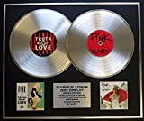 EC Pink/Double CD Platinum Record Display/LTD. Edition/COA/The Truth About Love & Beautiful Trauma
