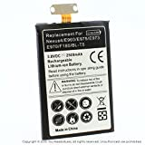 YN4L 2500mAh Replacement Battery for LG Google Nexus 4 E960 ; E970 ; E975 ; E973 ; F180 ; LG Optimus G ; BL-T5